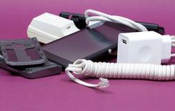 Accessori del telefono cellulare Fotografie Stock