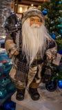 Accessori della decorazione di Natale Fotografia Stock