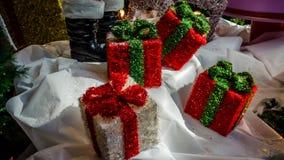 Accessori della decorazione di Natale Immagini Stock Libere da Diritti