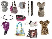 Accessori della donna Fotografie Stock