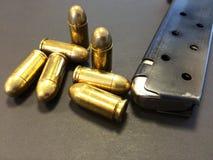 Accessori della pistola Fotografie Stock Libere da Diritti