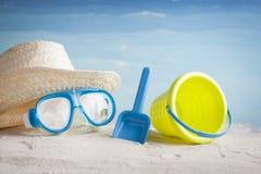 Accessori della spiaggia Immagine Stock Libera da Diritti