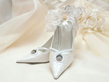 Accessori della sposa Fotografie Stock