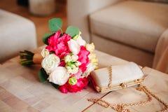 Accessori della sposa Immagini Stock