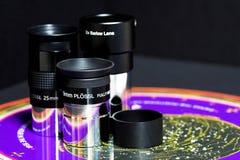 Accessori di astronomia Fotografia Stock Libera da Diritti