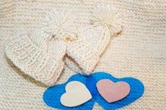 Accessori di lavoro a maglia Palle del filato Immagini Stock Libere da Diritti