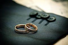 Accessori di nozze Fotografie Stock