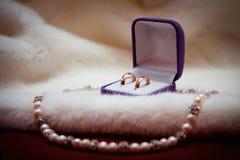 Accessori di nozze Immagini Stock