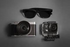 Accessori di viaggio Fotografie Stock Libere da Diritti