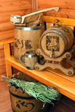 Accessori per sauna Immagini Stock Libere da Diritti