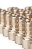 Accessori per tubi filettati Fotografie Stock Libere da Diritti