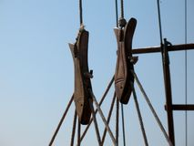 Accessori su una barca Immagini Stock Libere da Diritti