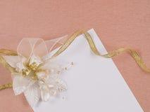 Accessorie de las bodas Fotografía de archivo libre de regalías