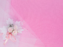 Accessorie de las bodas un ojal Foto de archivo libre de regalías