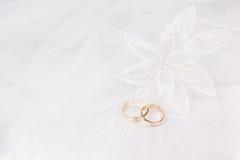 Accessorie de las bodas un ojal Imágenes de archivo libres de regalías