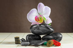 Accessories for acupuncture. Royalty Free Stock Image