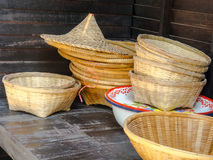 The accessories of basketry. Royalty Free Stock Photo