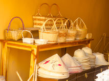 The accessories of basketry. Royalty Free Stock Images