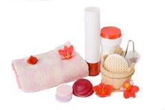 accessories bath spa Στοκ φωτογραφία με δικαίωμα ελεύθερης χρήσης