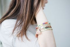 Accessories, Beautiful, Bracelet Royalty Free Stock Photography