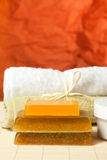 Accessories for body care and spa Royalty Free Stock Images