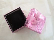 Accessories box gift Royalty Free Stock Photography