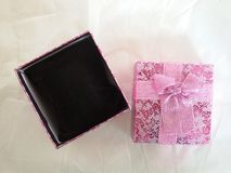 Accessories box gift Royalty Free Stock Photo