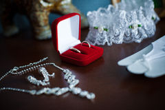 Accessories bridesmaid Stock Photography