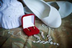 Accessories bridesmaid Stock Images