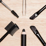 Accessories for brows care Royalty Free Stock Photo