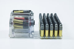 Accessories with .22 bullet Royalty Free Stock Photo