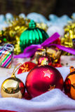 Accessories for Crismas festivals Stock Image