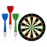 Accessories for the game of darts Royalty Free Stock Photo