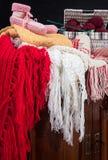 Accessories handmade wool Stock Image
