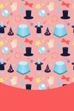 Accessories for magic tricks Stock Image
