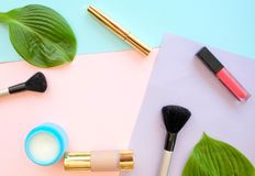 Accessories for a make-up royalty free stock images