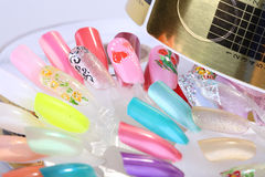 Accessories manicure Stock Photos