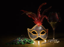 Accessories for the masquerade Stock Image