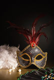 Accessories for the masquerade Royalty Free Stock Photo