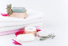 Accessories for massage stock photography