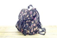 Modern, new, female backpack stock photography