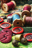 Accessories for needlework Royalty Free Stock Images