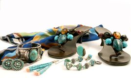 Accessories Or Essentials Stock Photography
