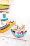 Accessories for patchwork Royalty Free Stock Image