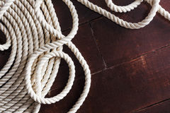 Accessories for rigging in the marine business Stock Photo