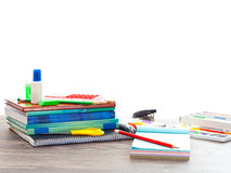 Accessories from school Royalty Free Stock Images