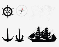 Accessories for seafaring Royalty Free Stock Photos