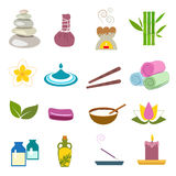 Accessories set for massage and sauna Royalty Free Stock Photo
