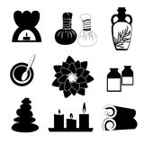 Accessories set for Thai massage Royalty Free Stock Images