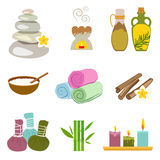 Accessories set for Thai massage Royalty Free Stock Photography
